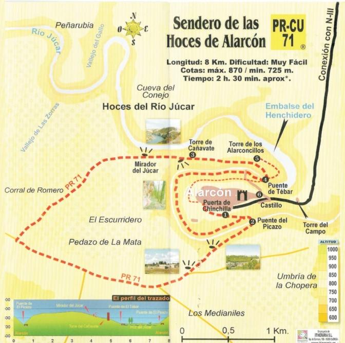 Mapa ruta PR-CU71