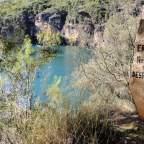 Cañón del río Guadiela. Reflejos en aguas turquesas (I)