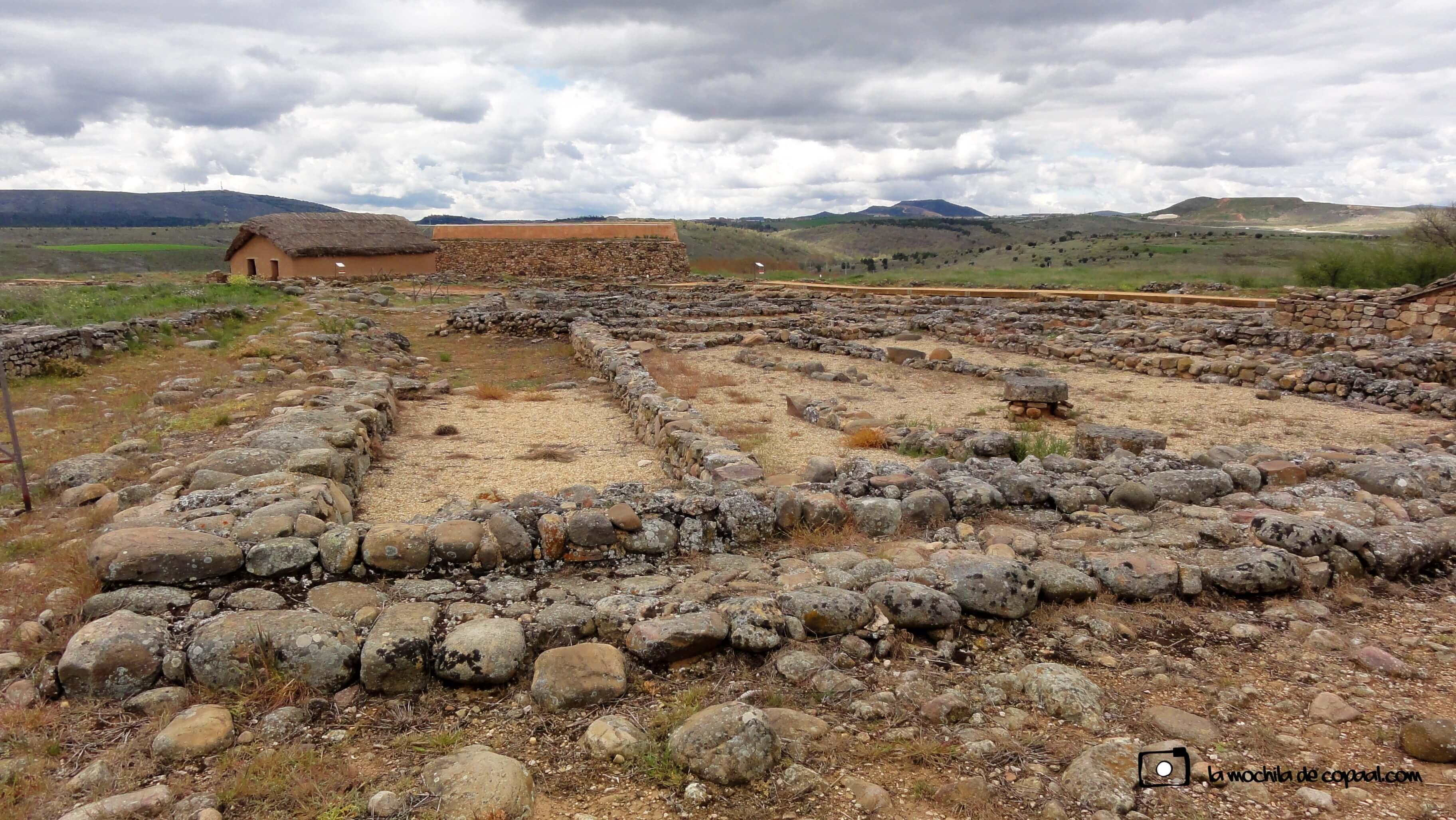 yacimiento Numancia, edificio público